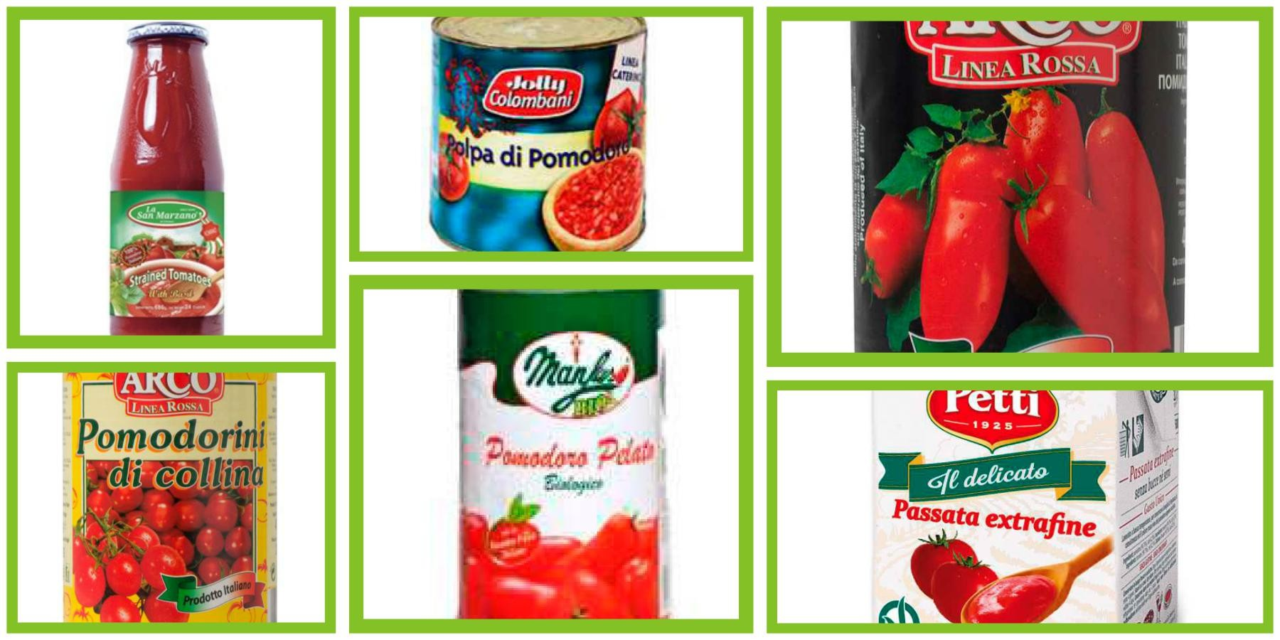 Tomatoes and Tomato Sauces